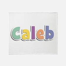 Caleb Spring14 Throw Blanket