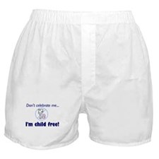 Cute Anti child Boxer Shorts