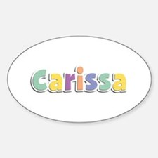 Carissa Spring14 Oval Decal
