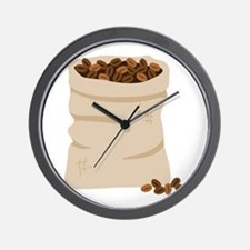 Sack Of Beans Wall Clock