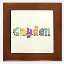 Cayden Spring14 Framed Tile