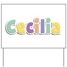 Cecilia Spring14 Yard Sign