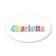 Charlotte Spring14 35x21 Oval Wall Decal