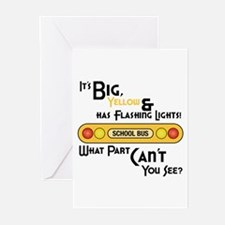 Big And Yellow Greeting Cards