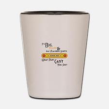 Big And Yellow Shot Glass
