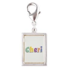 Cheri Spring14 Silver Portrait Charm