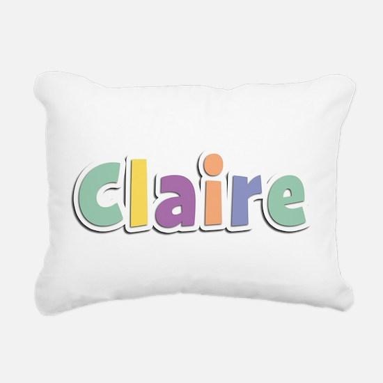 Claire Spring14 Rectangular Canvas Pillow