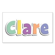 Clare Spring14 Rectangle Decal