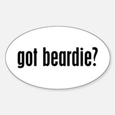 Got Beardie? Oval Decal
