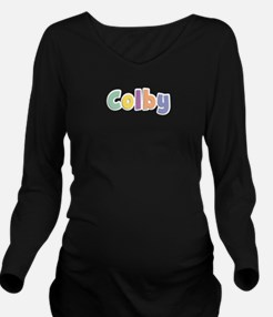 Colby Spring14 Long Sleeve Maternity T-Shirt