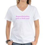 Be Superficial Women's V-Neck T-Shirt