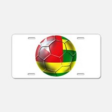 Togo Football Aluminum License Plate