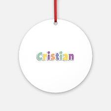 Cristian Spring14 Round Ornament