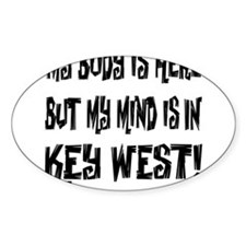 IN KEY WEST - WHITE Decal