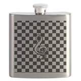 Music themed Flask Bottles
