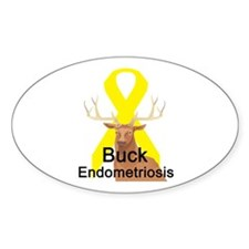 Endrometriosis Oval Decal
