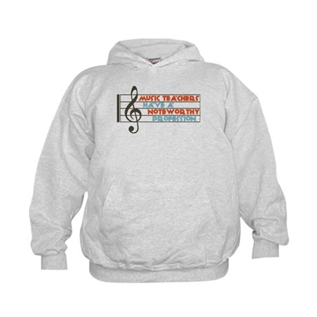 Music Teacher Kids Hoodie