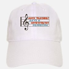 Music Teacher Baseball Baseball Cap