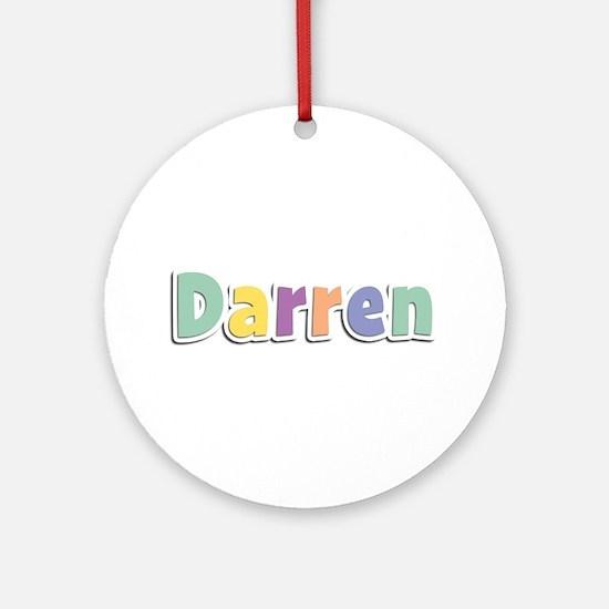 Darren Spring14 Round Ornament