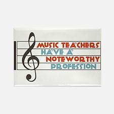 Music Teacher Rectangle Magnet