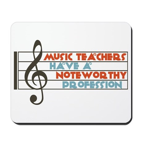 Music Teacher Mousepad