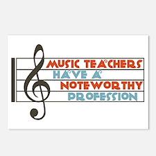 Music Teacher Postcards (Package of 8)