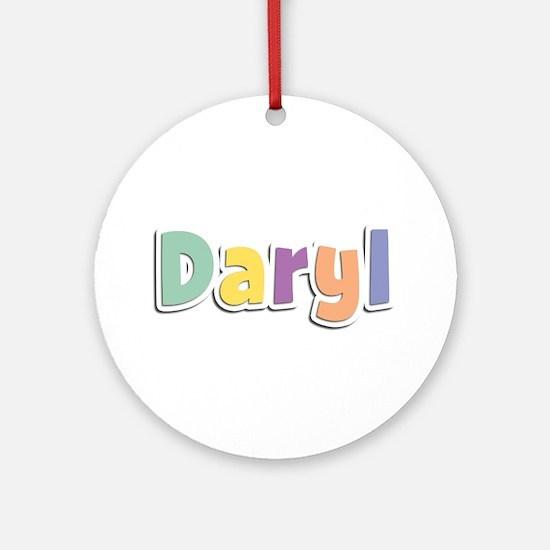 Daryl Spring14 Round Ornament