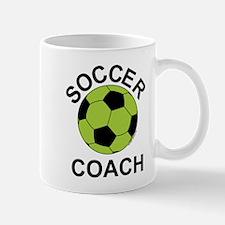Soccer Coach Green Mug