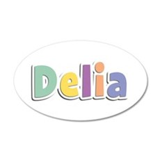 Delia Spring14 35x21 Oval Wall Decal