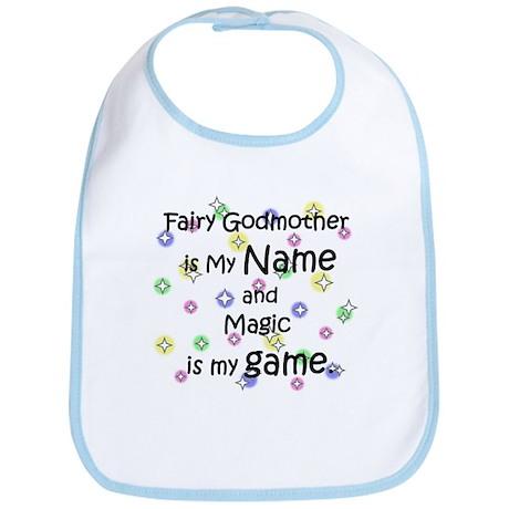 Fairy Godmother Name Bib