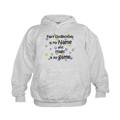 Fairy Godmother Name Kids Hoodie