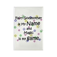 Fairy Godmother Name Rectangle Magnet