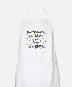Fairy Godmother Name BBQ Apron