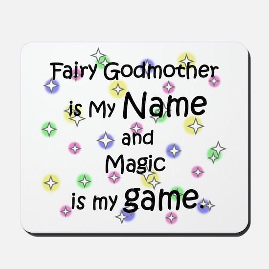 Fairy Godmother Name Mousepad
