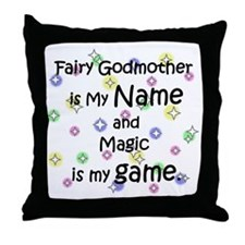 Fairy Godmother Name Throw Pillow