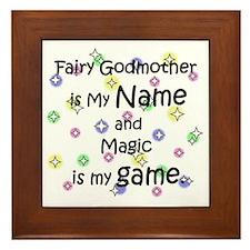 Fairy Godmother Name Framed Tile