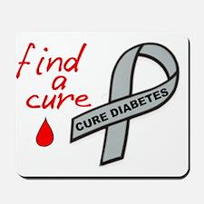 DIABETES AWARENESS SUPPORT Mousepad