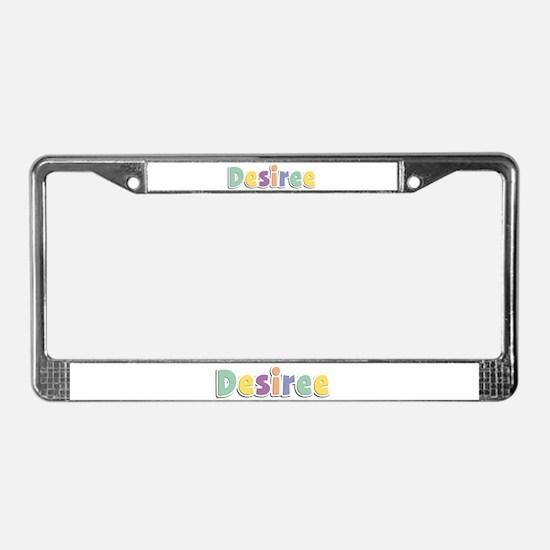 Desiree Spring14 License Plate Frame
