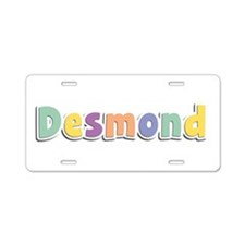 Desmond Spring14 Aluminum License Plate