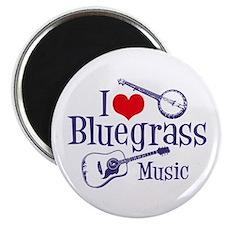 I Love Bluegrass Magnet