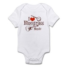I Love Bluegrass Infant Bodysuit