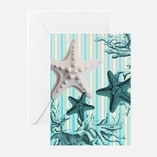 modern beach seashells starfish coral paris art Gr