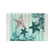modern beach seashells starfish coral paris art Ma