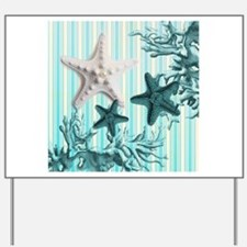 modern beach seashells starfish coral paris art Ya