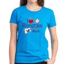 I Love Bluegrass Tee