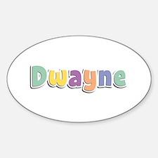 Dwayne Spring14 Oval Decal