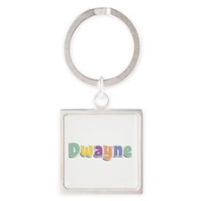 Dwayne Spring14 Square Keychain
