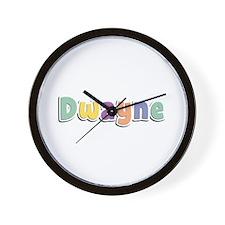 Dwayne Spring14 Wall Clock