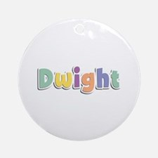 Dwight Spring14 Round Ornament