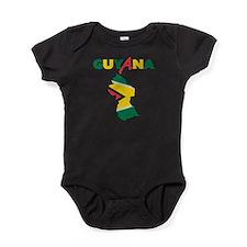 Guyana Baby Bodysuit